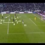 Juve-Inter 1-3. Hármas kényszerítő szélen és gól.