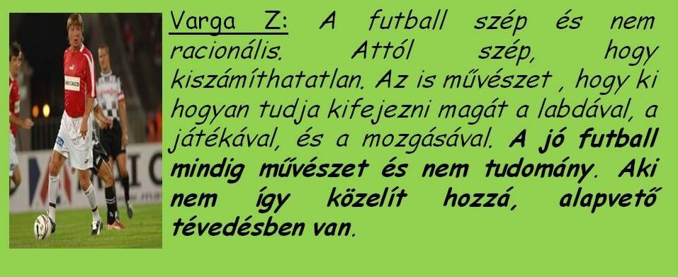 Varga Zoli tanításai 8.