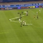 Az együttes labdavisszaszerzés és a védelmi vonal mozgatása